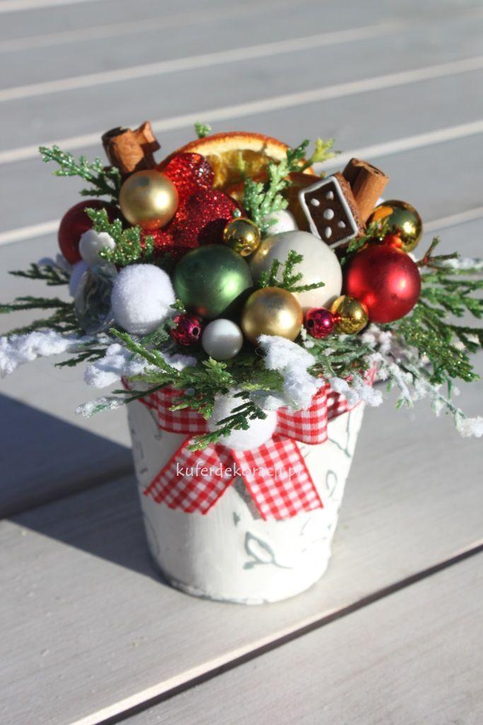 Stroik świąteczny Mini Ozdoby świąteczneświętaboże Narodzenie